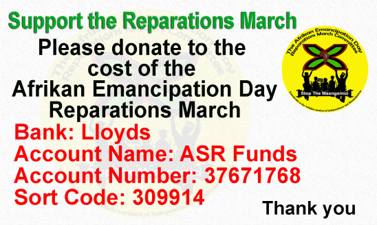 SM March Committee Bank Details