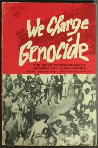 WE CHARGE GENOCIDE