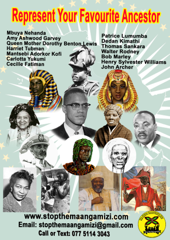 MARCH PAGE 2 Afrikan Ancestors Reparations March (A4) (2)
