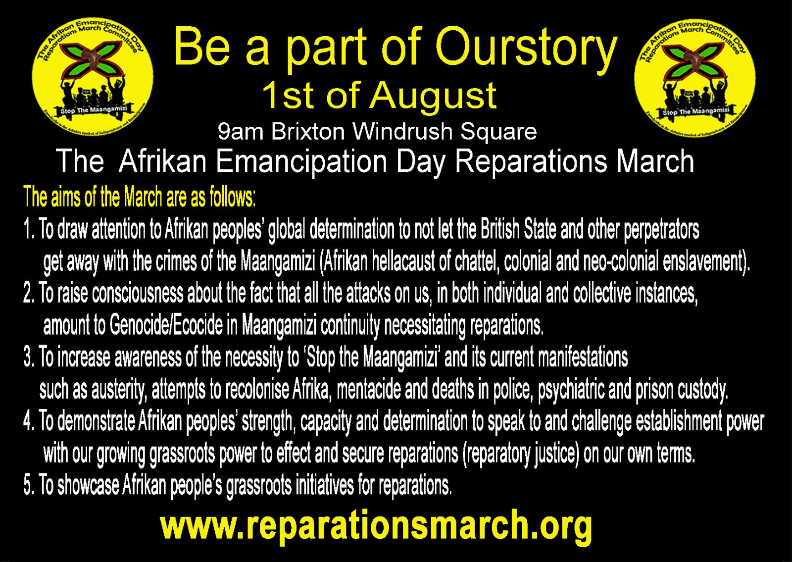 SM AIMS MARCH