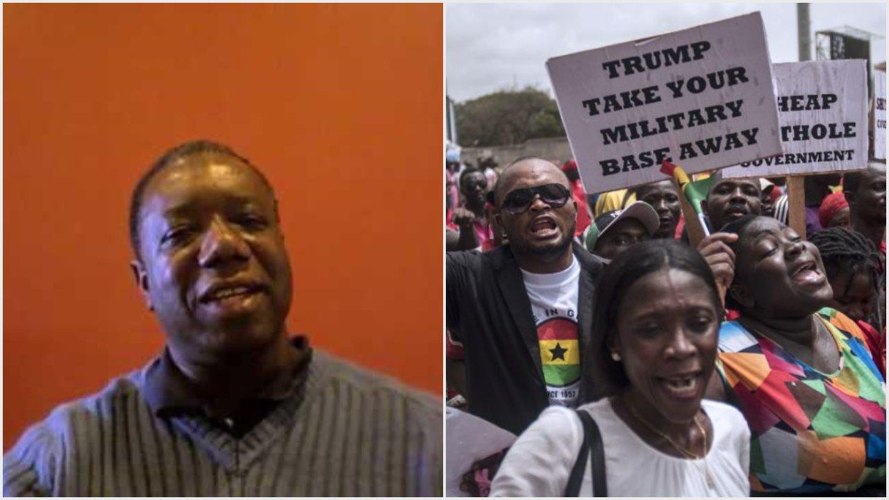 USAFRICOM: GLOBALISING PAN-AFRIKAN MAANGAMIZI RESISTANCE FROM GHANA