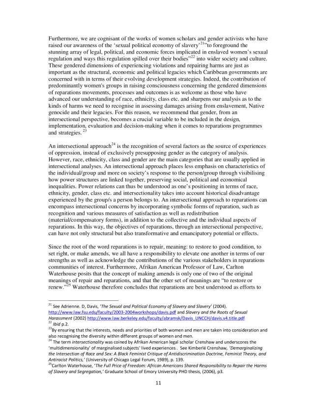 PARCOE CARICOM REPARATIONS POSITION PAPER-11