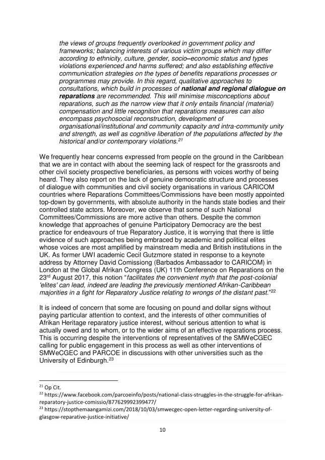 PARCOE POSITION STATEMENT UNIVERSITIES & REPARATIVE JUSTICE DEC 2018-10